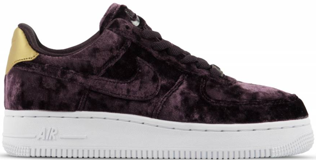 timeless design 86de8 e029a Women s Nike Air Force 1 Low Premium Port Wine Velvet