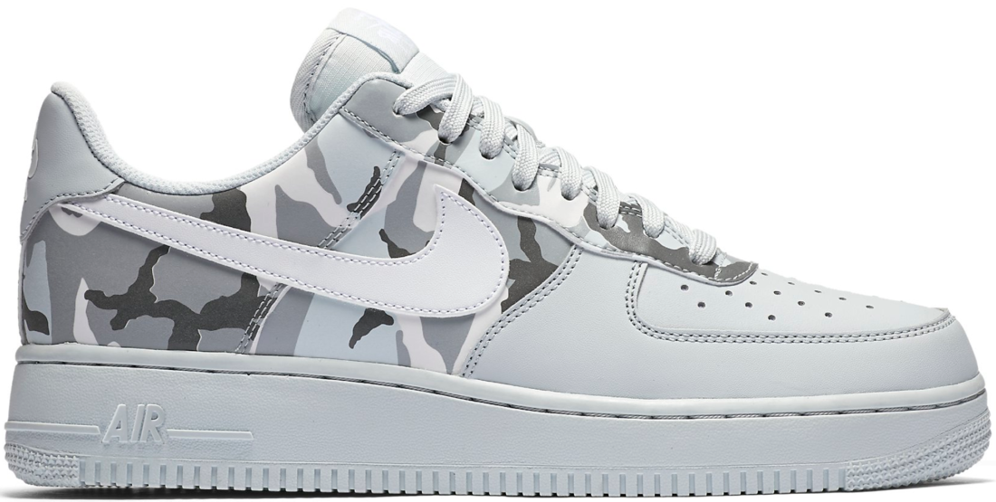 buy online 4d9dd 141a3 Nike Air Force 1 Winter Camo