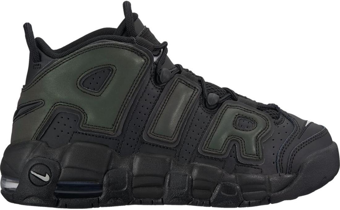 922845 001 Nike Air More Uptempo GS Reflective Black