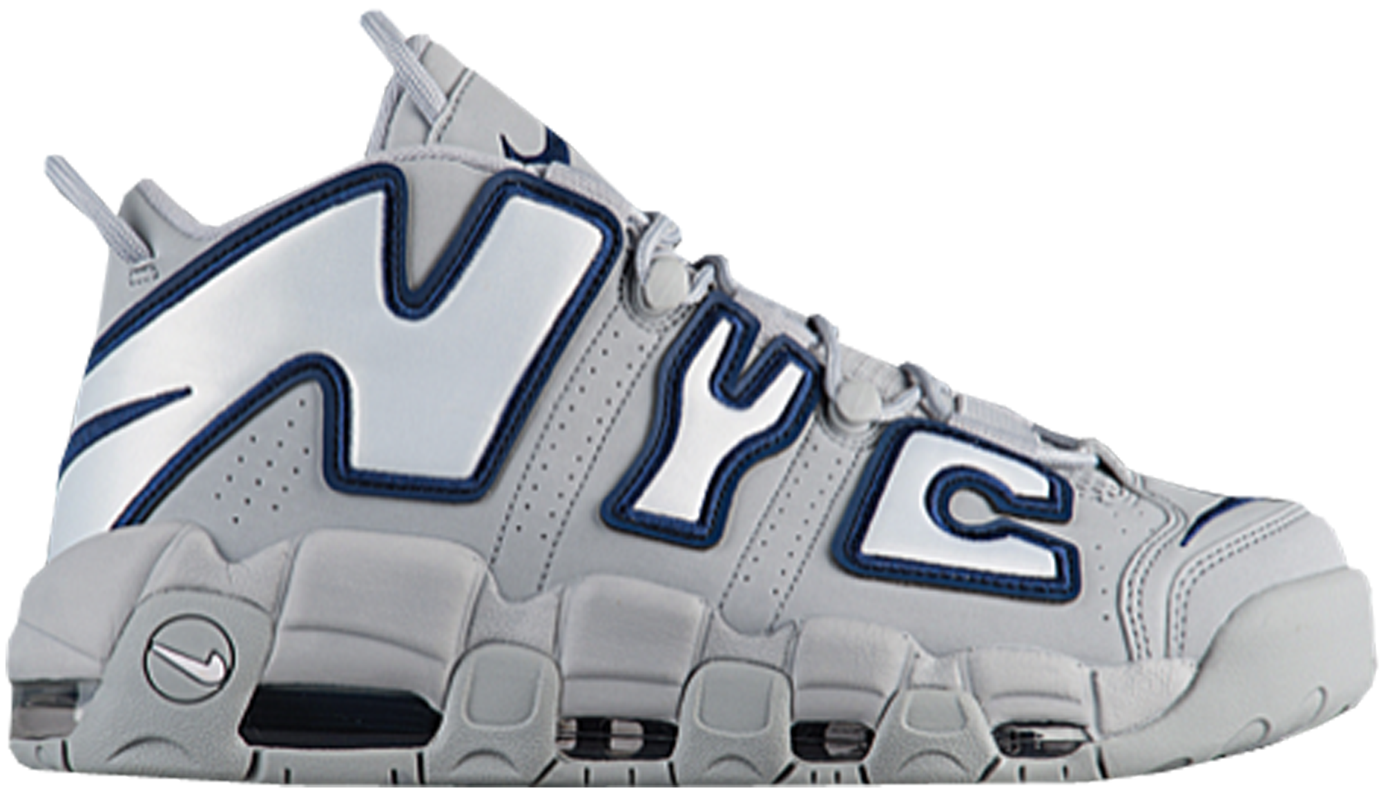 Nike Air More Uptempo NYC Wolf Grey