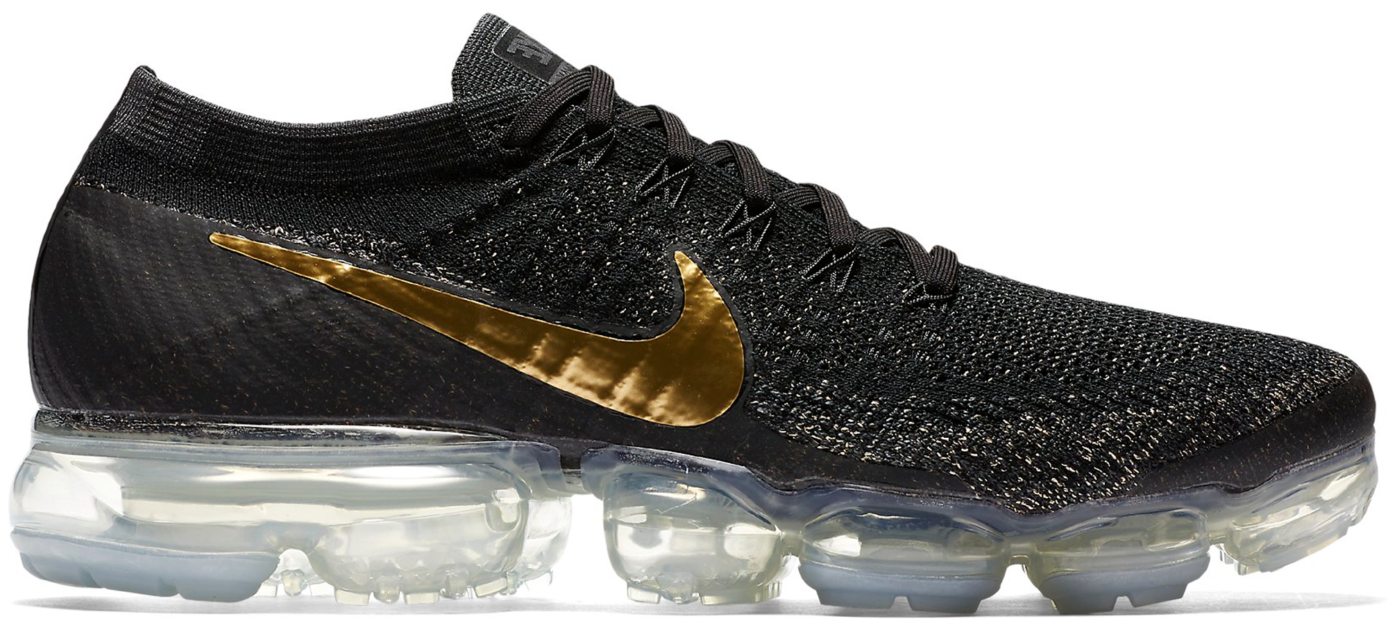 Nike Vapormax Gold And Black