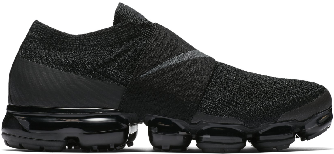 premium selection 32785 f8b5f Nike Air VaporMax Flyknit Moc Triple Black - StockX News