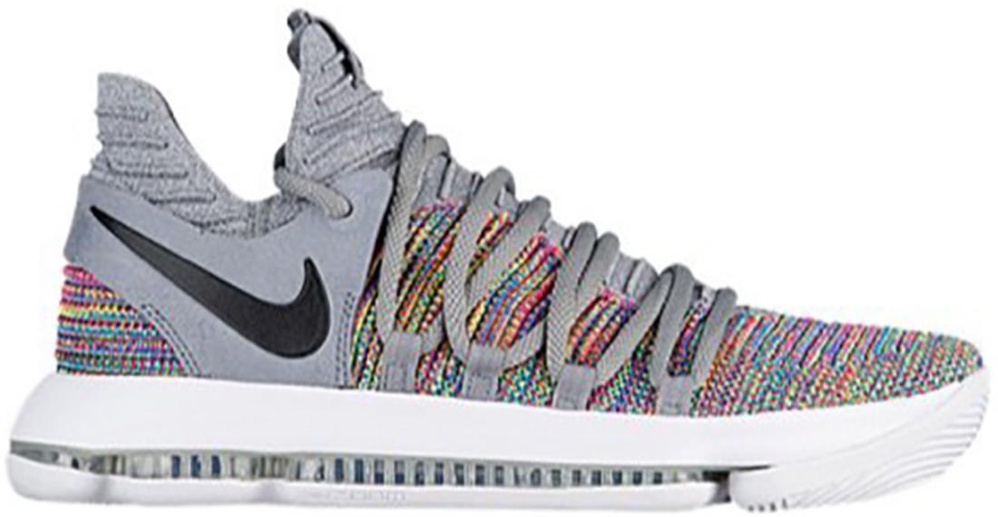 buy online 28dca ef0fb Nike KD 10 Multi-Color