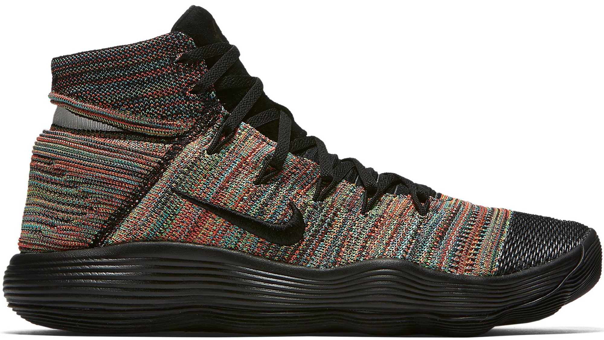 64bfac69f3f3 Nike React Hyperdunk 2017 Flyknit Multi-Color - StockX News