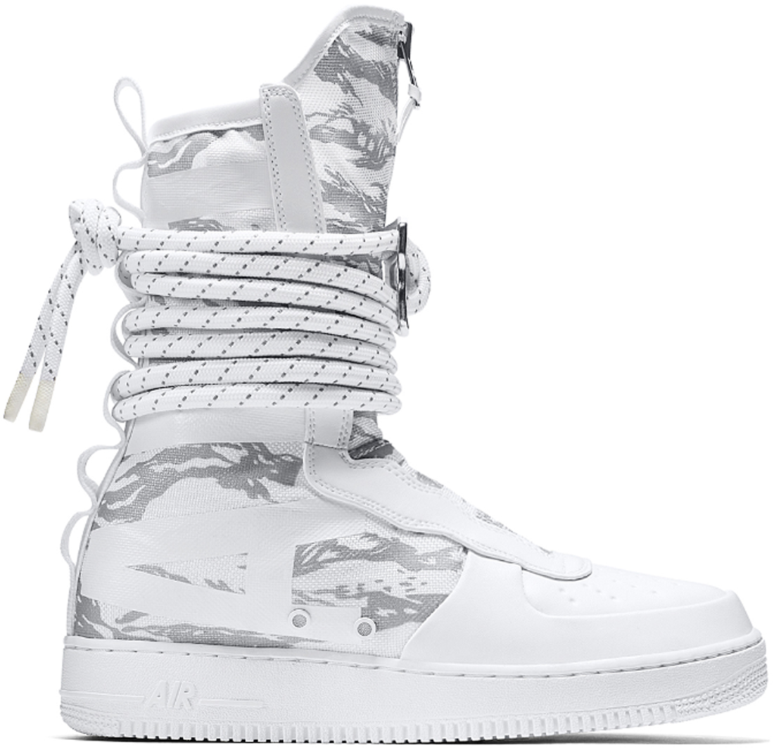 Nike SF Air Force 1 High Winter Camo - StockX News 6b3042a6cad5