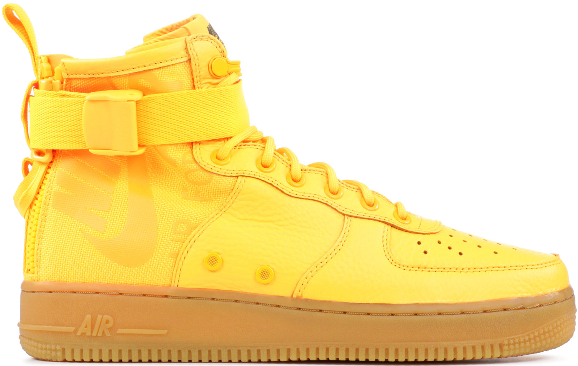 ... Odell Beckham Jr. x Nike SF Air Force 1 Mid Laser Orange .