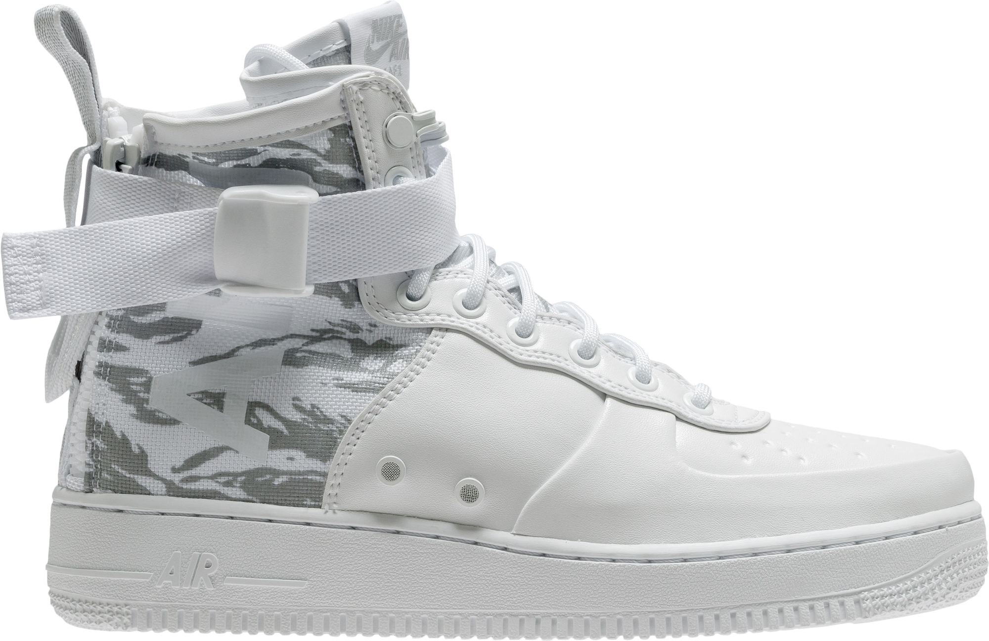 nike sf air force 1 all white