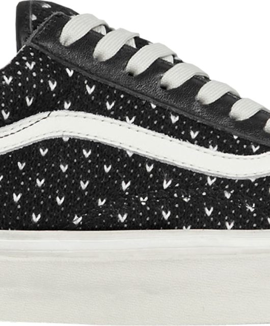 End x Vans Old Skool Nordic Wool Black