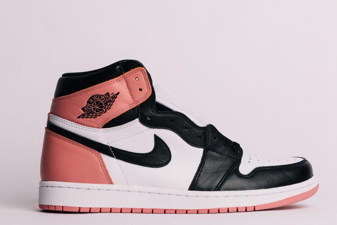 Jordan 1 Pink Black Toe