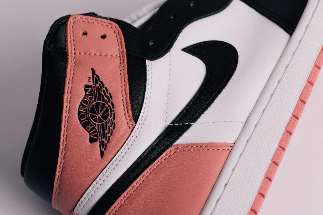 Jordan 1 White-Black-Pink
