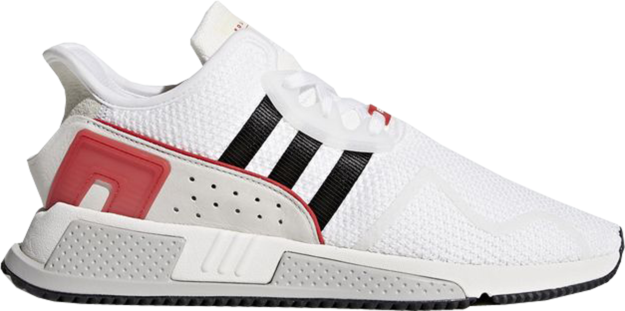 check out 8f371 d133a adidas EQT Cushion Adv White Black Scarlet