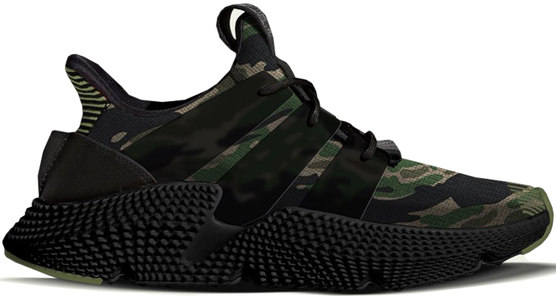 half off 1d135 2d129 Undefeated x adidas Prophere Camo