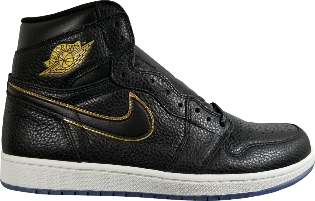 new products 627bc 8cd13 Air Jordan 1 LA Black Gold