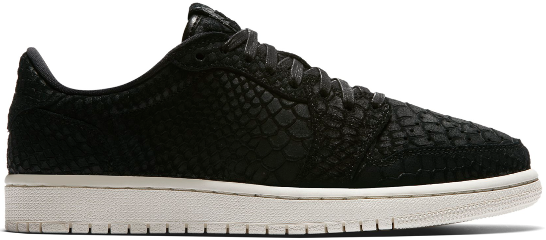 Women s Air Jordan 1 Retro Low NS Black Python - StockX News 3703492e01