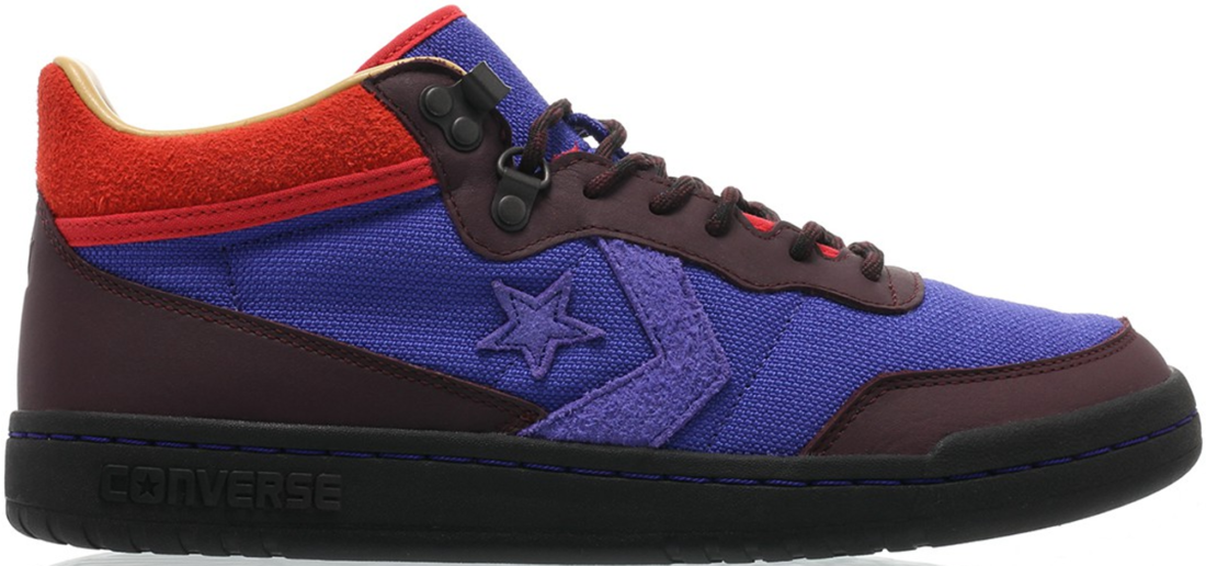 9a0cdec24241 Clot x Converse Fast Break Mid 80 Degrees North Royal Blue - StockX News