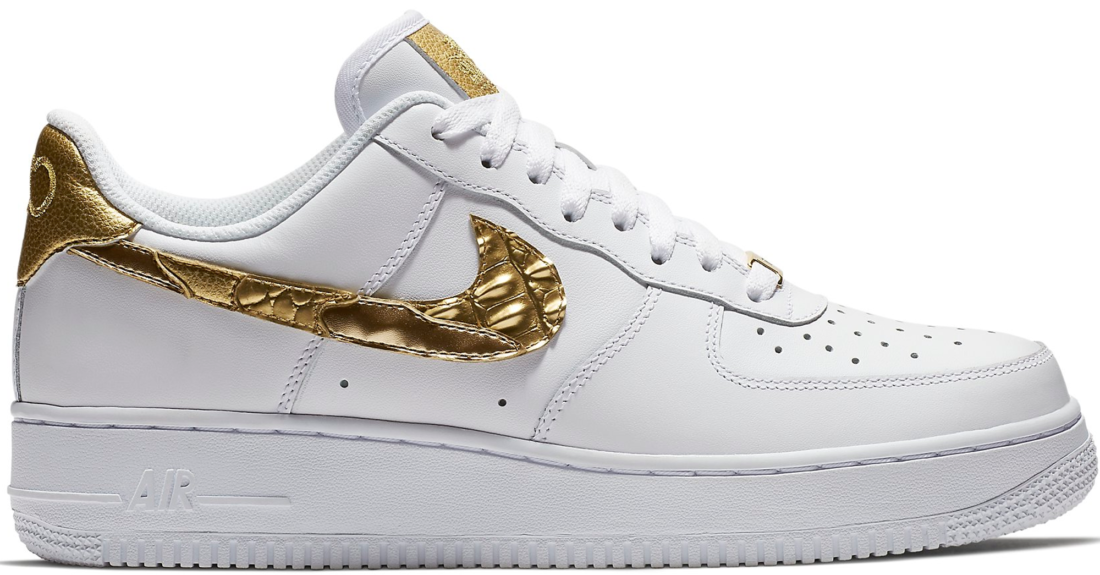 newest a14ca ac30d Nike Air Force 1 Low CR7 Golden Patchwork