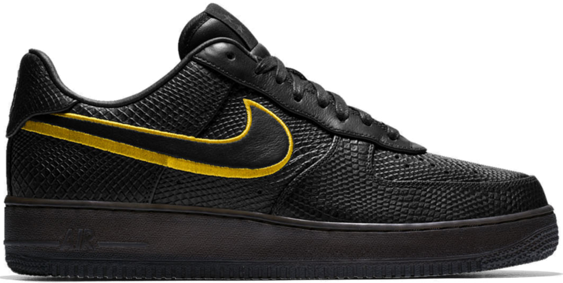 new arrival f022a 55fde Nike Air Force 1 Low Kobe Black Mamba