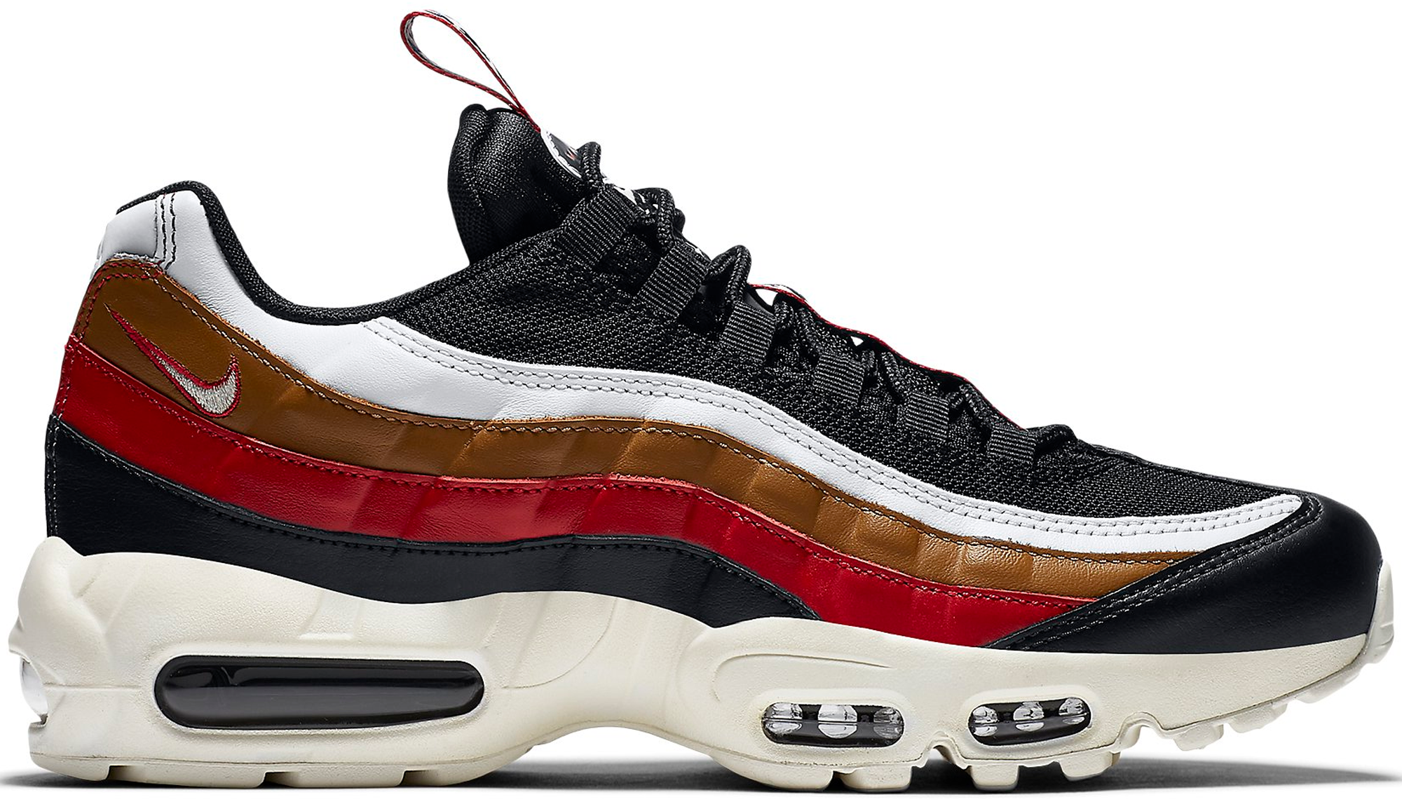 ... wholesale nike air max 95 pull tab black brown 67c02 330d5 b0f664477