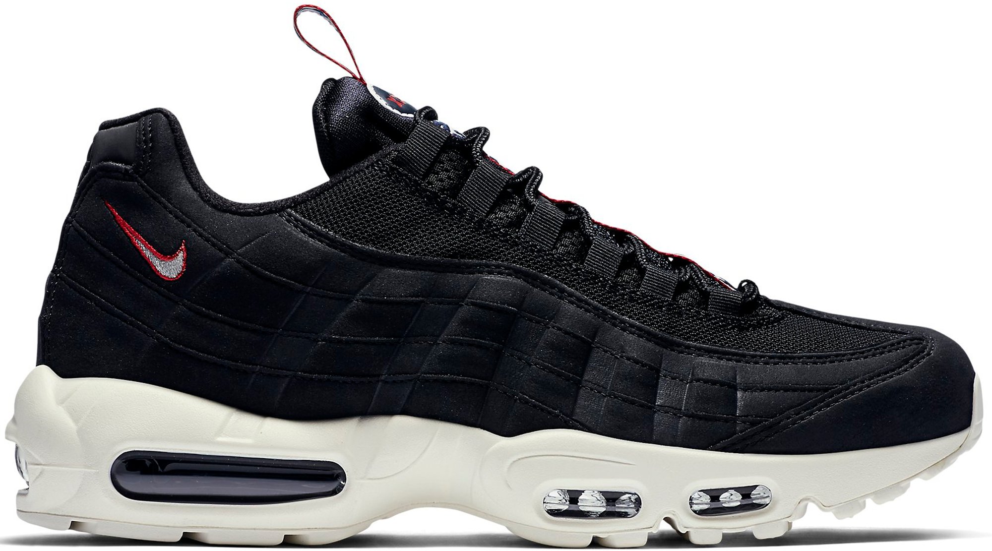 nike air max 95 pull tab black. Black Bedroom Furniture Sets. Home Design Ideas