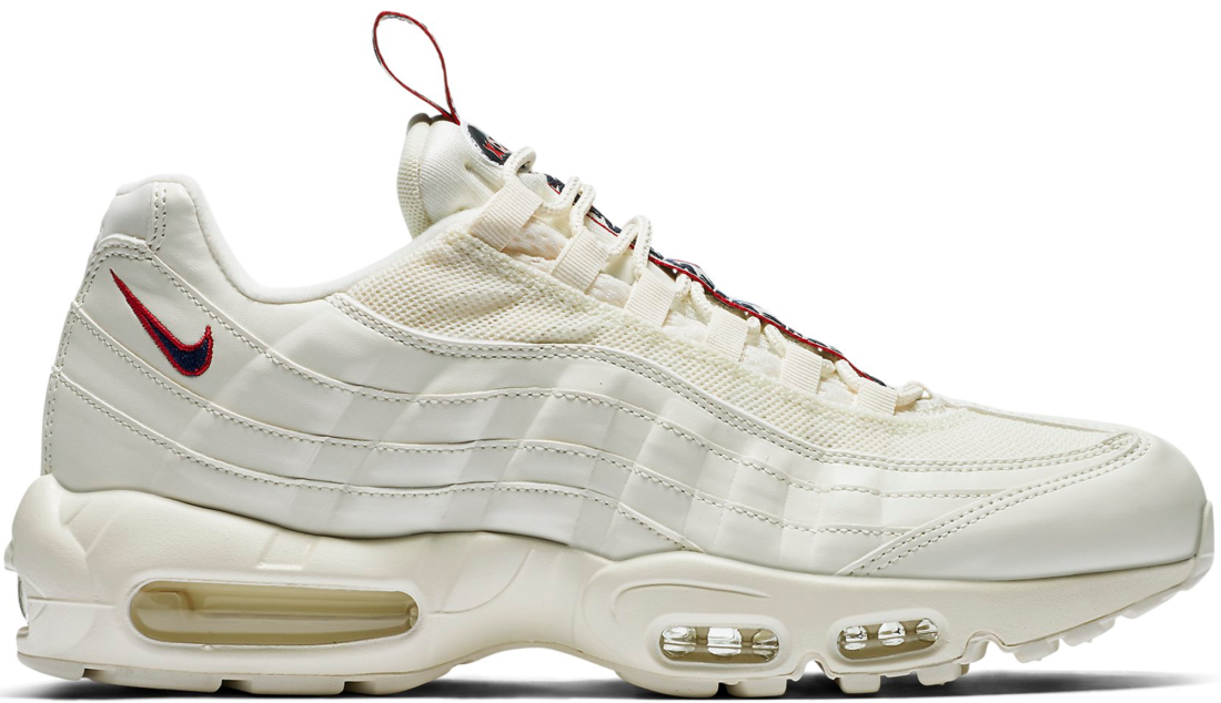 official photos bc1fc ed0d4 Nike Air Max 95 Pull Tab Sail