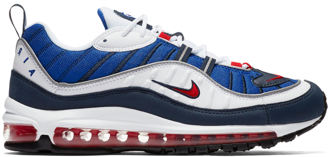 Nike Air Max 98 Gundam 2018 - StockX News 68a2fd9e1