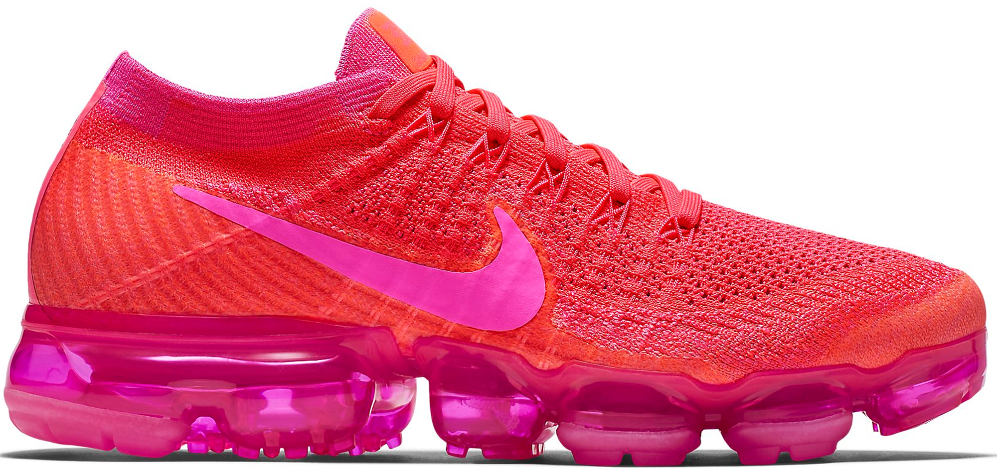 d5936f8670fbd Women s Nike Air VaporMax Flyknit Hyper Punch - StockX News
