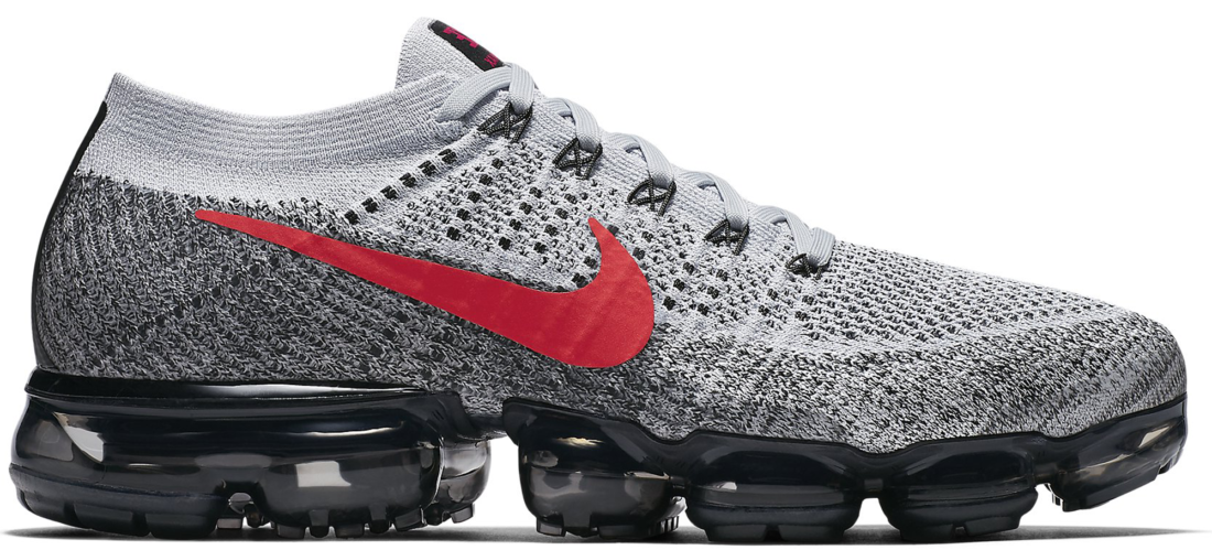 66b64f590a Nike Air VaporMax Flyknit Platinum Red Black - StockX News