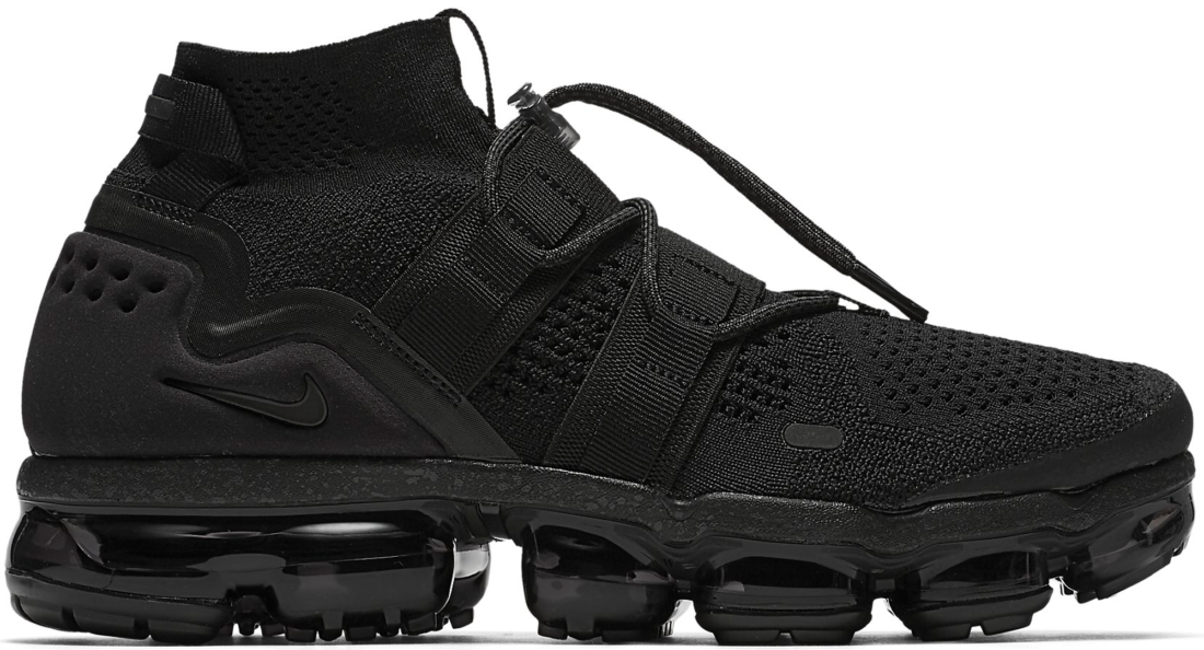 f9c82ed60647 Nike Air VaporMax Utility Triple Black - StockX News