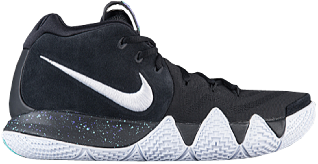 competitive price c795a 823e6 Nike Kyrie 4 Black White - StockX News