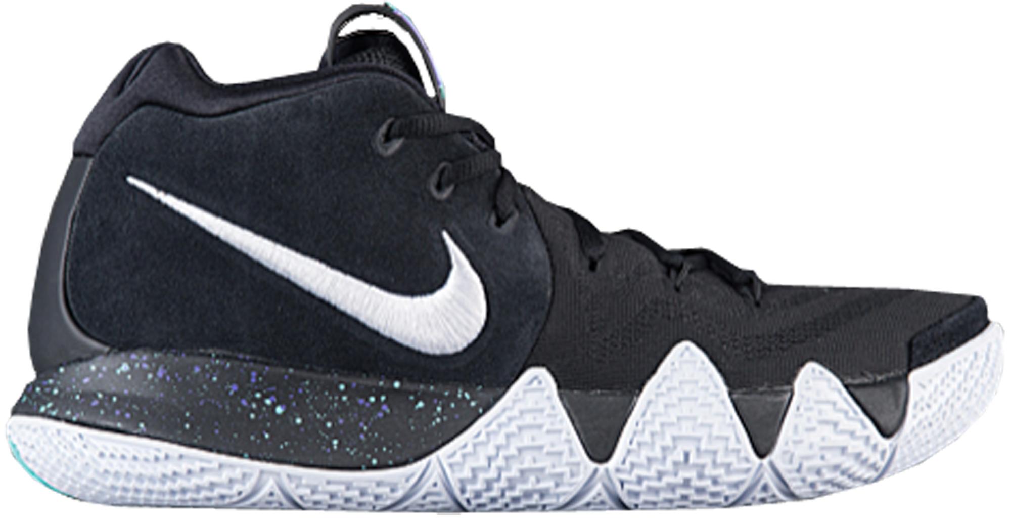 44b27e23 Nike Kyrie 4 Black White - StockX News