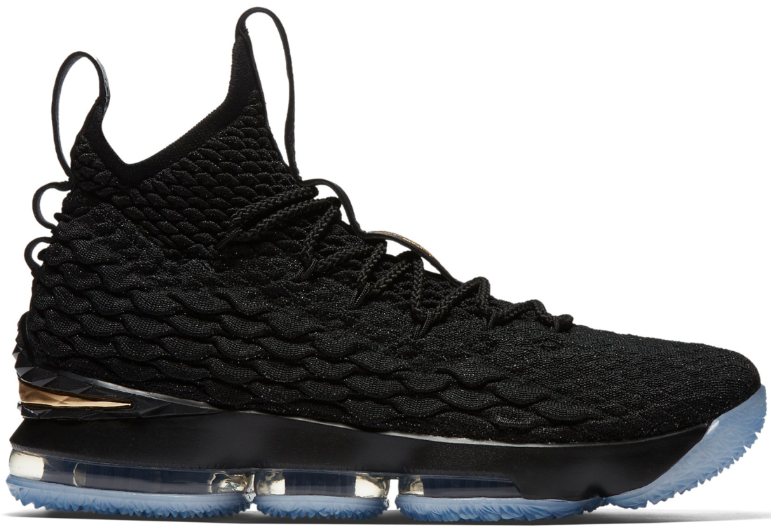 Nike LeBron 15 Black Gold - StockX News b884d7b99