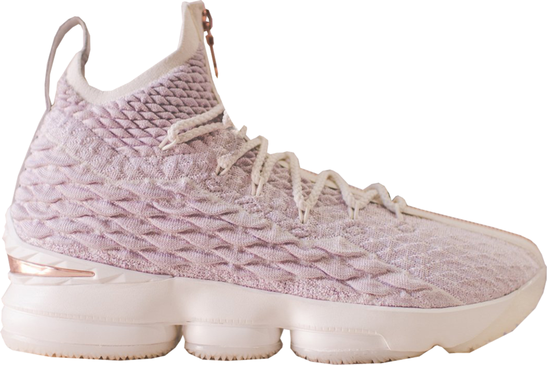 reputable site baa6e ec8a6 KITH x Nike LeBron 15 Rose Gold Performance Zip