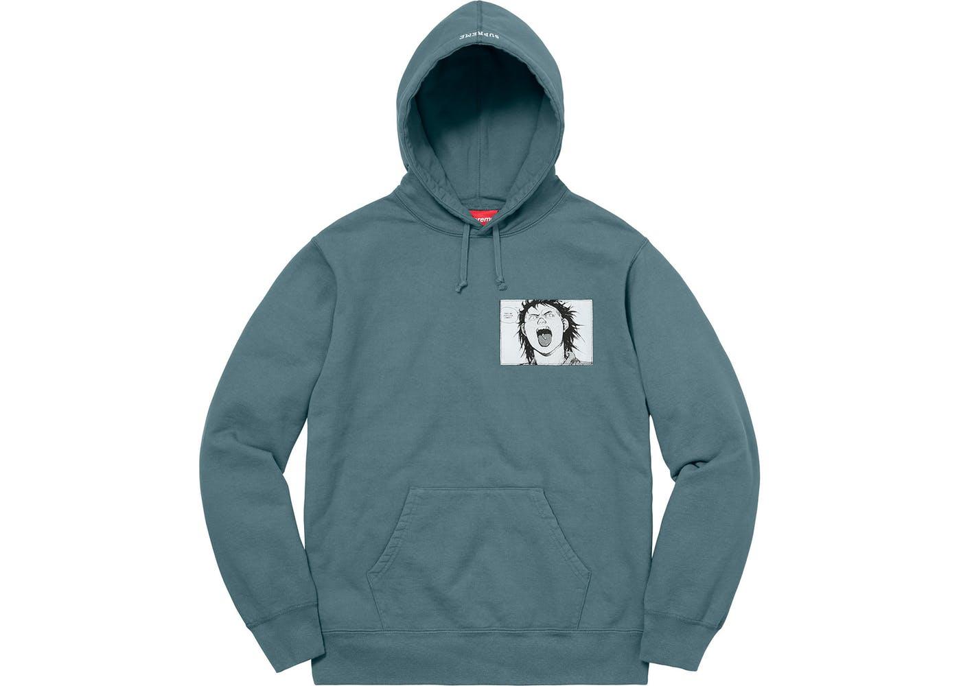 42a344b265a4 Supreme AKIRA Patches Hooded Sweatshirt Slate - StockX News