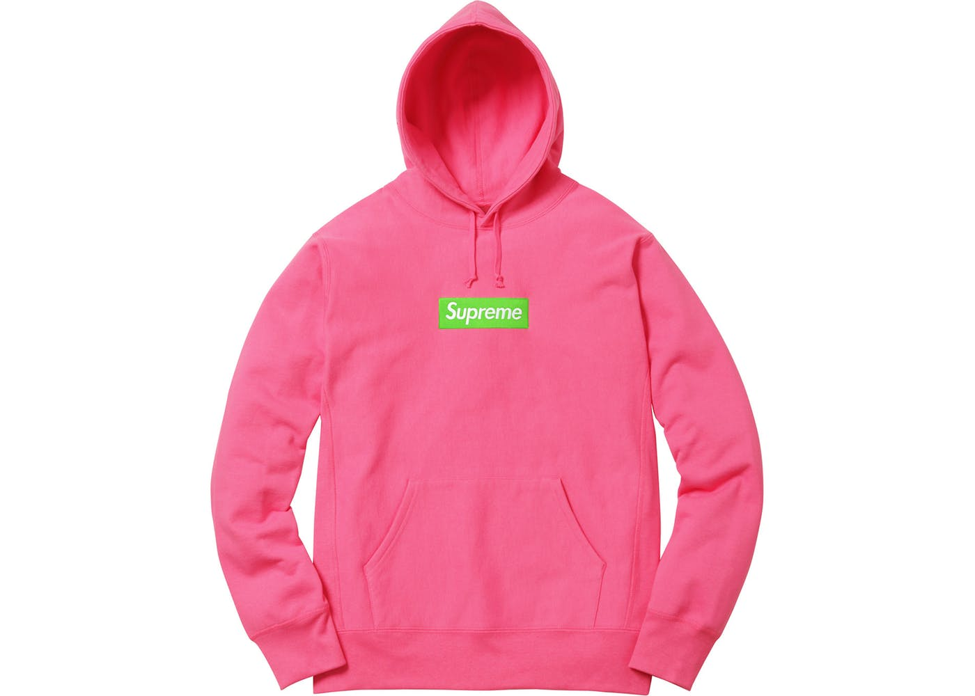 Supreme Box Logo Hooded Sweatshirt (FW17) Magenta fe475ce24c4f