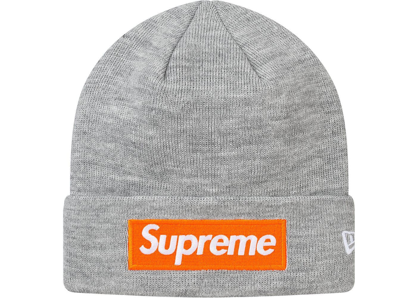 4e903bf0eb500 Supreme New Era Box Logo Beanie Heather Grey - StockX News