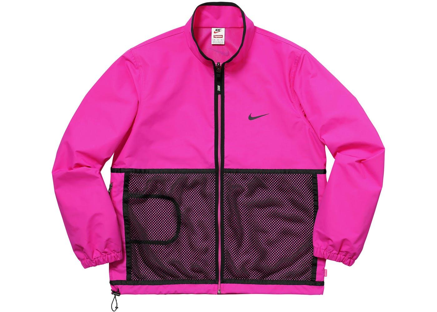 Supreme Nike Trail Running Jacket Pink