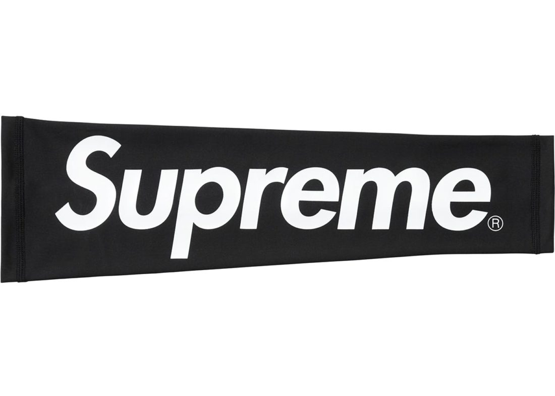 Black Supreme Nike Shooting Sleeve