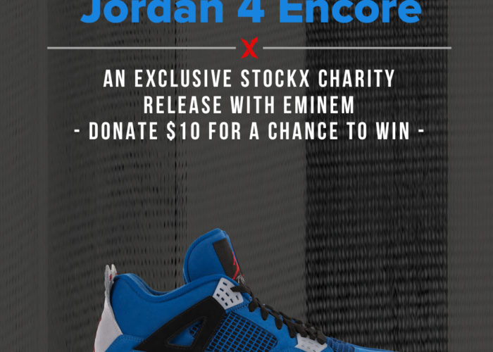 The Eminem Jordan 4 Encore Is BACK And StockX Is The Only Place To Get It