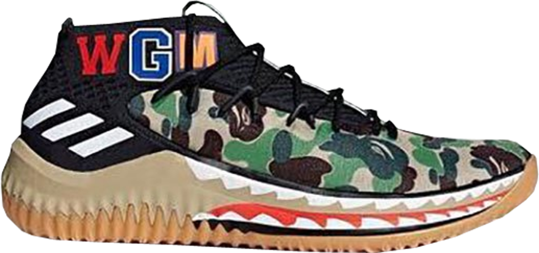 best loved 185c4 dc845 A Bathing Ape x adidas Dame 4 Camo