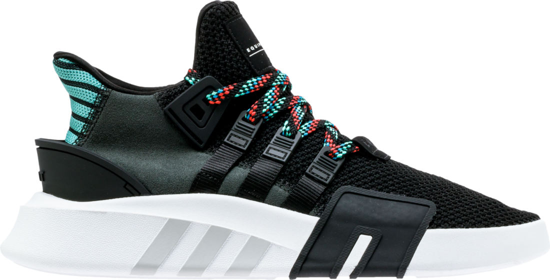 more photos ce6ec b4367 adidas EQT Support Basketball Adv Core Black Sub Green ...