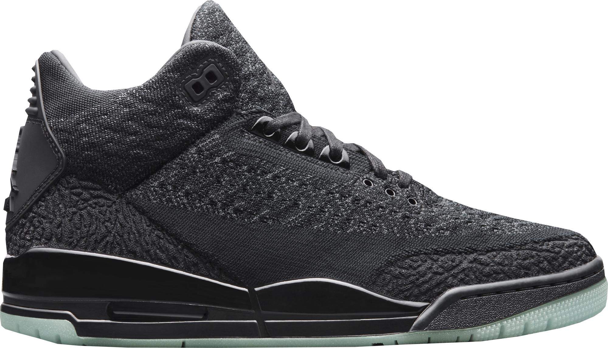 42093c6d463c Air Jordan 3 Flyknit Black