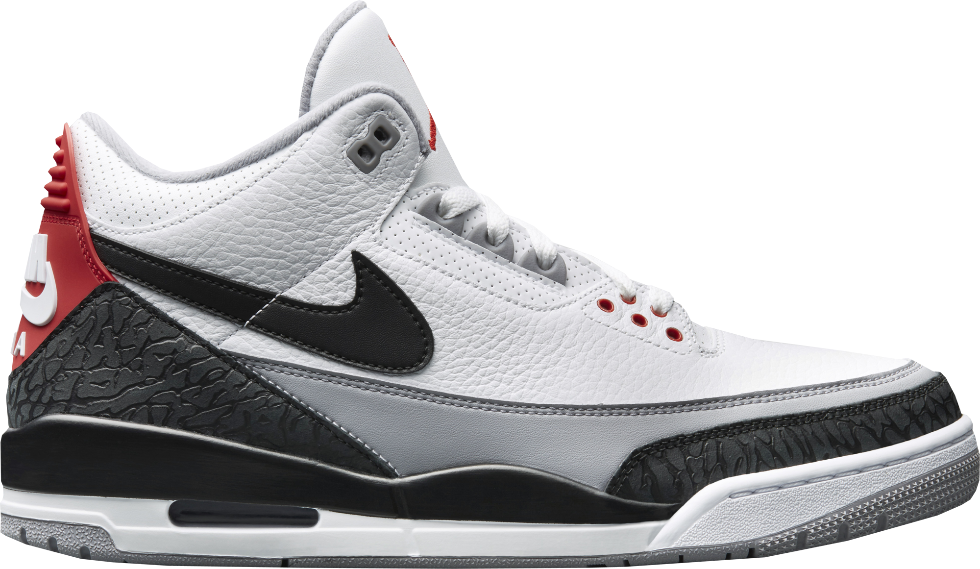 Air Jordan 3 Tinker Hatfield Fire Red