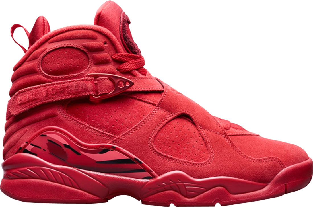 quality design 6b2c1 be85b Women's Air Jordan 8 Retro Valentine's Day 2018 - StockX News
