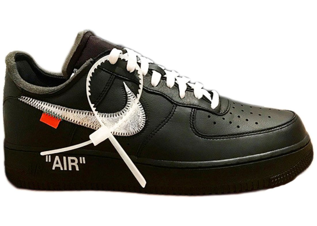 50b7a6fe0f6b Off-White x MoMA x Nike Air Force 1 Low Black - StockX News