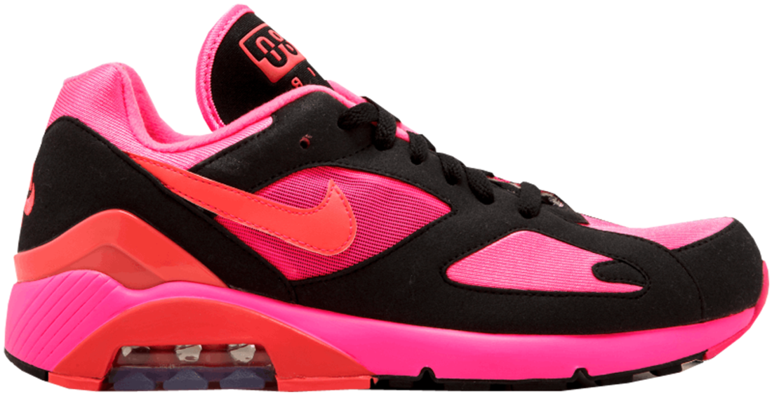 pink and black nike air max