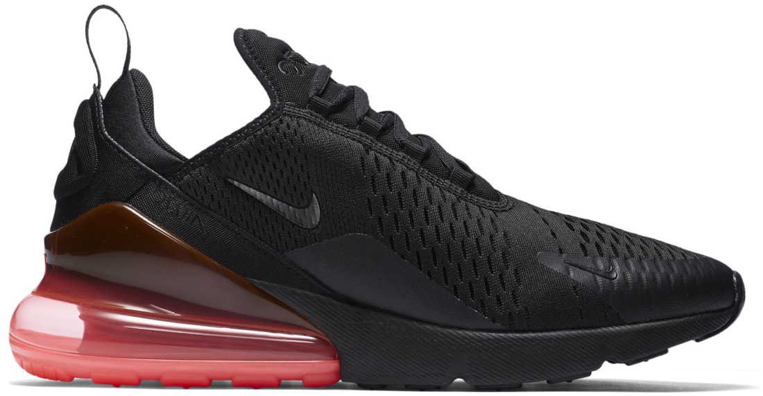 Hot Sale Men's Nike Air Max 270 Black Red With Low Prices