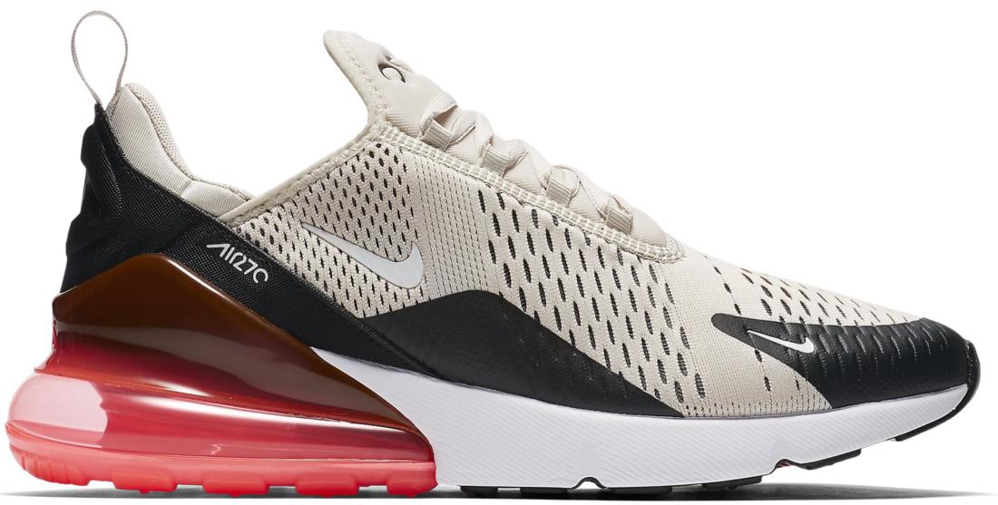Nike Air Max 270 Light Bone Hot Punch - StockX News d4ce4b4ae440