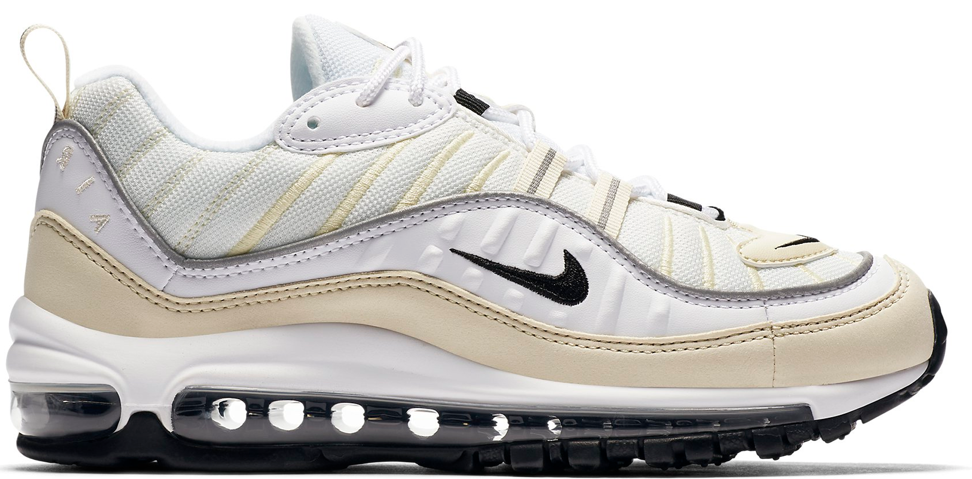 air max 98 fossil white