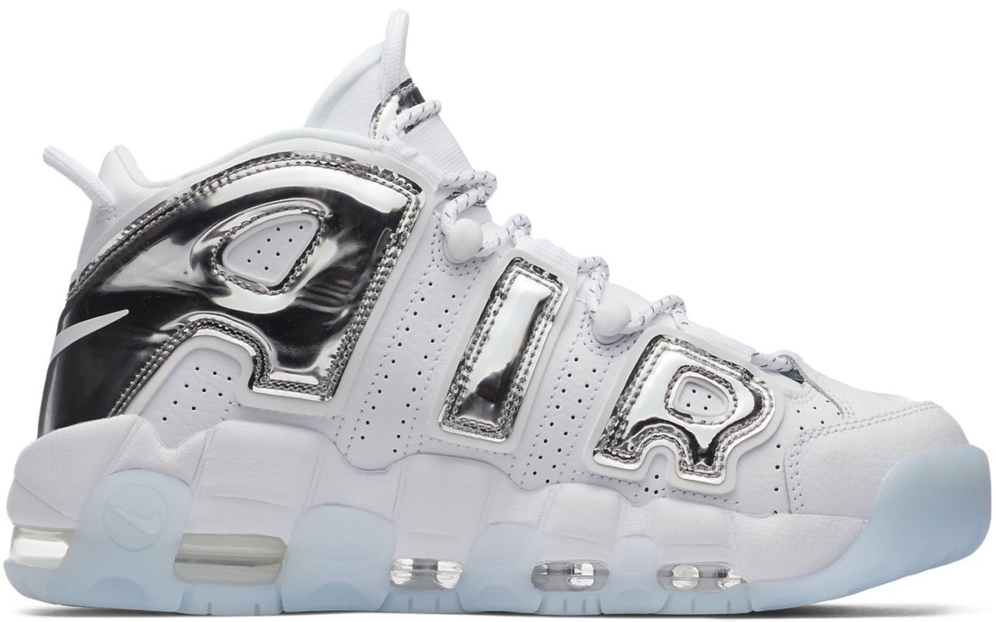 076599e0 Women's Nike Air More Uptempo Chrome White - StockX News