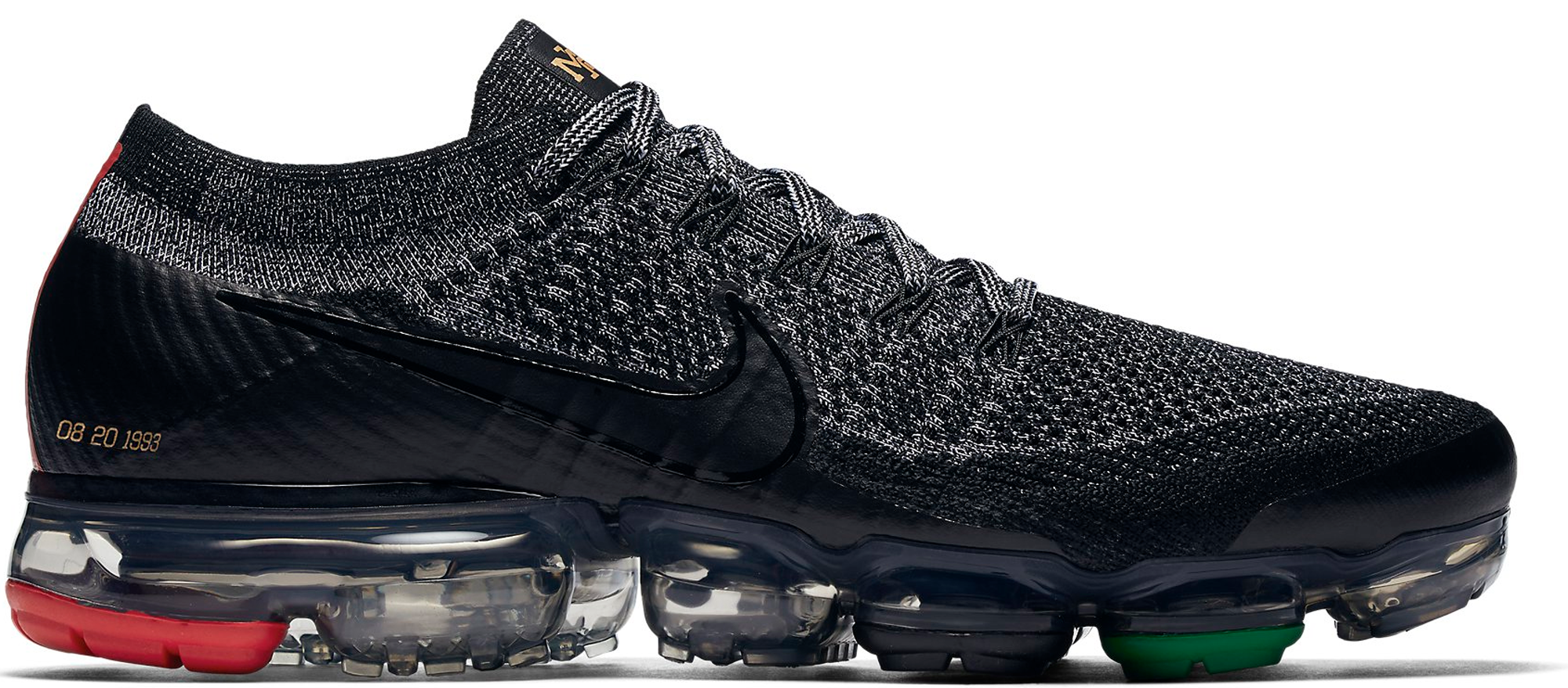 Nike Air VaporMax Flyknit BHM Black History Month 2018